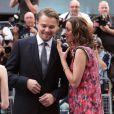 Leonardo DiCaprio et Marion Cotillard lors de l'avant-première du film Inception à Londres le 8 juillet 2010