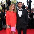 """Laure de Clermont-Tonnerre à la montée des marches du film """"Sils Maria"""" lors du 67e Festival du film de Cannes le 23 mai 2014."""