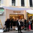 Carmen Steffens à Cannes, le 23 mai 2014.