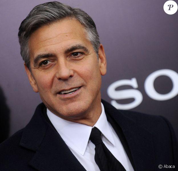 George Clooney à New York le 4 février 2014.