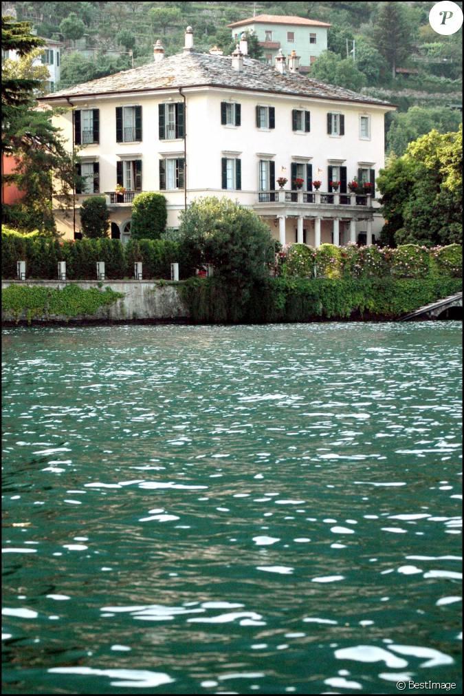 la maison de george clooney pr 232 s du lac de c 244 me en