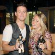 Sienna Miller et Channing Tatum et leurs figurines G.I. Joe à New York, le 3 août 2009.