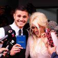 Wanda Nara et Mauro Icardi lors de leur mariage à Buenos Aires, le 27 mai 2014.