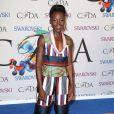 Lupita Nyong'o arrive à la soirée des CFDA Fashion Awards 2014 à New York, le 2 juin 2014.