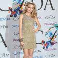 Blake Lively arrive à la soirée des CFDA Fashion Awards 2014 à New York, le 2 juin 2014.