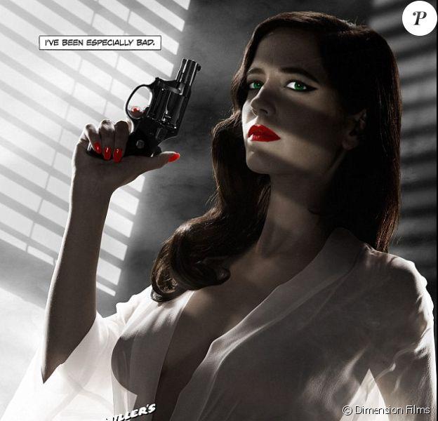 L'affiche censurée de Sin City : A Dame To Kill For.