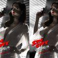 Les deux affiches de Sin City : A Dame To Kill For, la nouvelle à gauche, la censurée à droite.