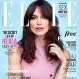 Couverture du numéro d'Elle UK avec Keira Knightley.