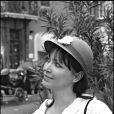 Anna Karina à Pari le 20 août 1982