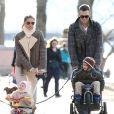 Exclusif -Tom Brady et Gisele Bundchen emmènent leurs enfants au parc à Boston. Le 20 avril 2014
