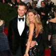 Gisele Bündchen et son mari Tom Brady - Soirée du Met Ball / Costume Institute Gala 2014
