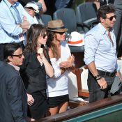 Patrick Bruel et sa compagne sexy, des couples en folie à Roland-Garros