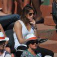 Amélie Mauresmo aux Internationaux de France de tennis de Roland Garros à Paris, le 6 juin 2014