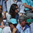 Xisca Perello (compagne de Rafael Nadal) aux Internationaux de France de tennis de Roland Garros à Paris, le 6 juin 2014