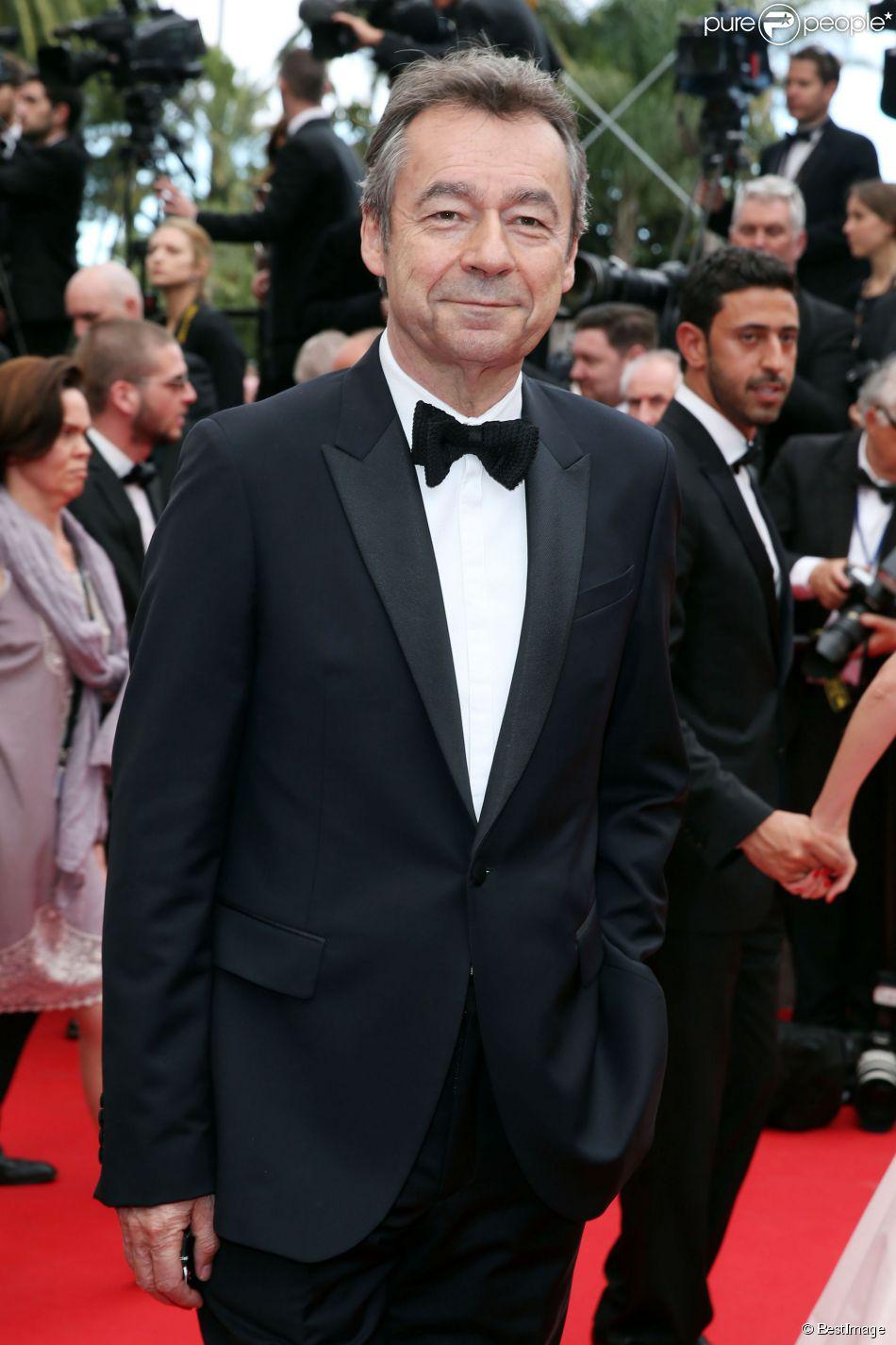 Michel Denisot à Cannes, le 14 mai 2014.