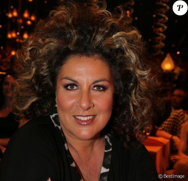 """Marianne James - Enregistrement de la 150eme émission """"Le plus grand cabaret du monde"""" le 14 mai 2013."""