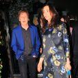 Paul McCartney et son épouse Nancy Shevell à Beverly Hills, le 10 avril 2014.