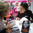 Ingrid Betancourt à la foire du livre de Goteborg, le 30 septembre 2012.