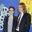 Léa Fazer et Nicholas Verso - Dîner de Gala du Panorama des Nuits en Or à l'UNESCO à Paris le 16 juin 2014.