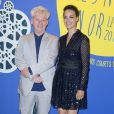 Malcolm Clarke et Bérénice Béjo - Dîner de Gala du Panorama des Nuits en Or à l'UNESCO à Paris le 16 juin 2014.