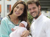 Felix et Claire de Luxembourg présentent leur bébé, la princesse Amalia