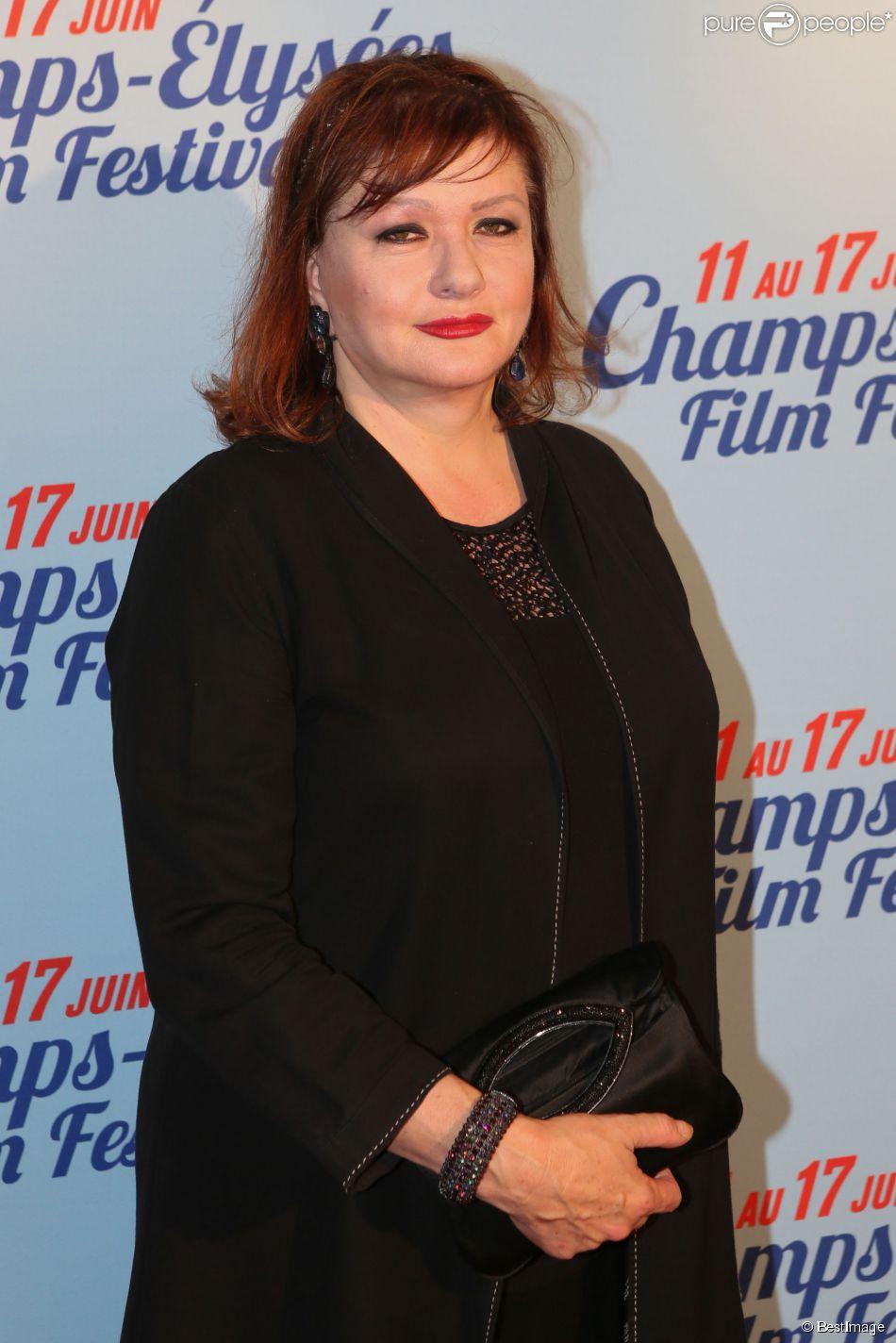 """Exclusif - Catherine Jacob lors de l'avant-première du film """"L'ex de ma vie"""" lors du 3e Champs-Elysées Film Festival à l'UGC George V à Paris, le 17 juin 2014."""