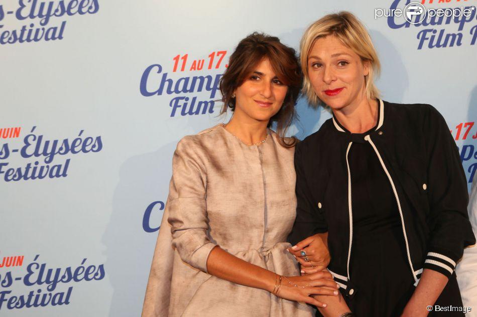 """Exclusif - Géraldine Nakache et Sophie Cattani lors de l'avant-première du film """"L'ex de ma vie"""" lors du 3e Champs-Elysées Film Festival à l'UGC George V à Paris, le 17 juin 2014."""