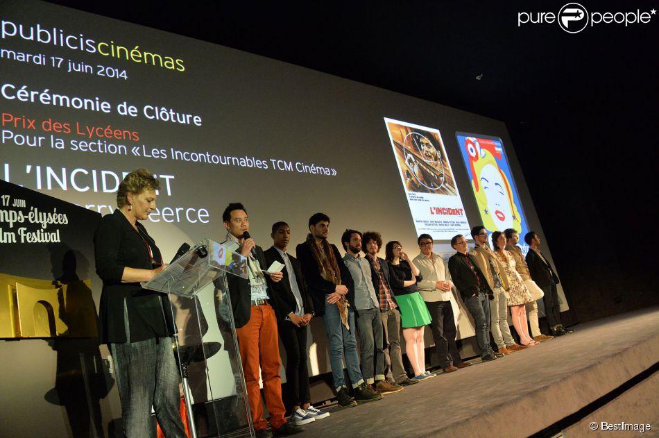Exclusif - Sophie Dulac (présidente du festival) lors de la cérémonie de clôture du 3e Champs-Elysées Film Festival au Publicis à Paris, le 17 juin 2014.