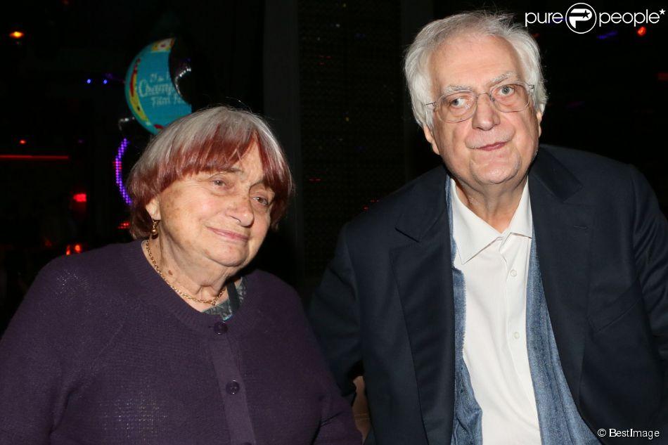 Exclusif - Agnès Varda et Bertrand Tavernier (président d'honneur) - After-party de la cérémonie de clôture du 3e Champs-Elysées Film Festival au Club 79 à Paris, le 17 juin 2014.