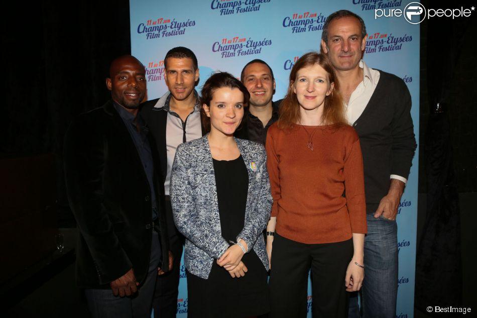 Exclusif - Claudia Myers - After-party de la cérémonie de clôture du 3e Champs-Elysées Film Festival au Club 79 à Paris, le 17 juin 2014.