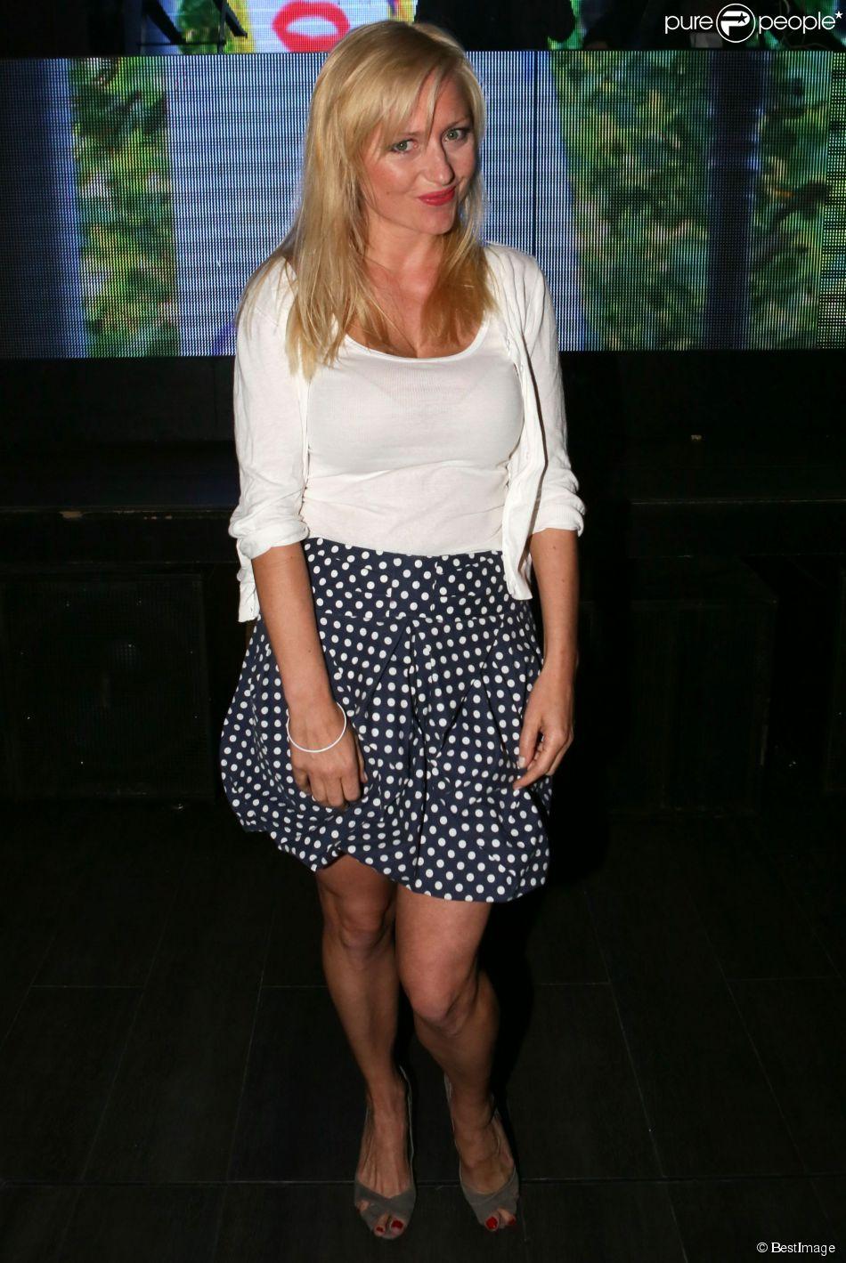 Exclusif - Monika Ekiert - After-party de la cérémonie de clôture du 3e Champs-Elysées Film Festival au Club 79 à Paris, le 17 juin 2014.
