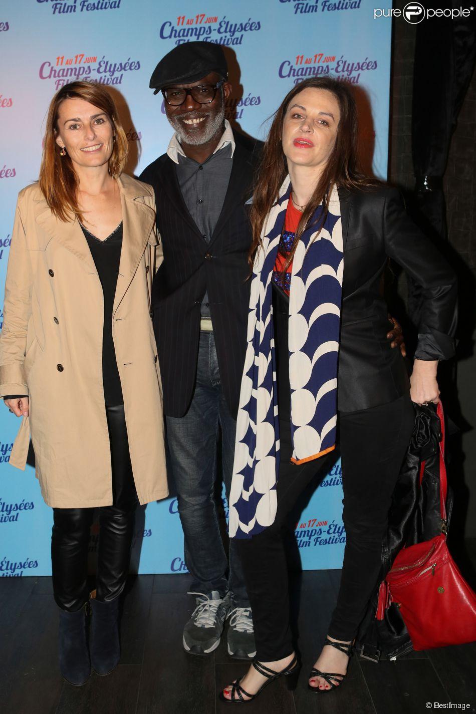 Exclusif - Fleur Albert, Eriq Ebouaney, Sylvie Brenet - After-party de la cérémonie de clôture du 3e Champs-Elysées Film Festival au Club 79 à Paris, le 17 juin 2014.
