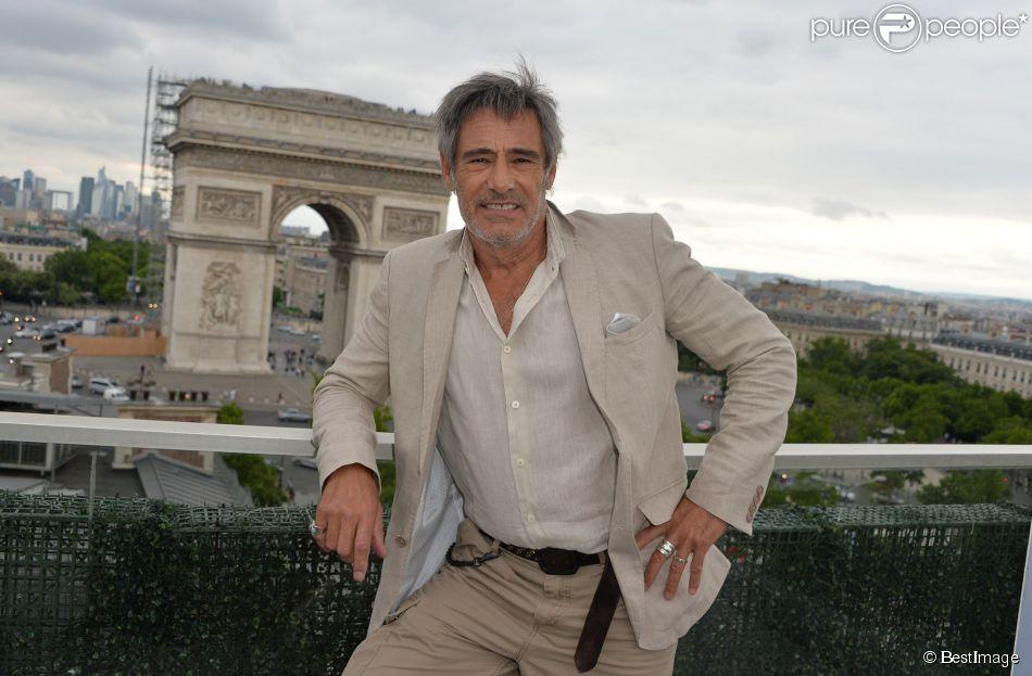 """Exclusif - Gérard Lanvin - Les acteurs et les invités du film """"Bon rétablissement !"""" sur la terrasse du Publicis et à l'avant-première du film lors du 3e Champs-Elysées Film Festival à Paris, le 16 juin 2014."""