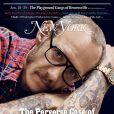 Terry Richardson en couverture du New York Magazine, daté de juin 2014.