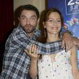 Guillaume Gouix, Audrey Dana - 30e Lancement de la fête du Cinéma à Paris le 19 juin 2014. La fête du cinéma aura lieu du 29 juin au 2 juillet 2014.