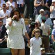 Marion Bartoli n'a pu retenir ses pleurs lors de son retour à Wimbledon, lors d'une petite cérémonie qui lui rendait hommage, ainsi qu'à Elena Baltacha, la joueuse britannique décédée le 4 mai, au All England Lawn Tennis and Croquet Club de Wimbledon, le 24 juin 2014