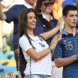Ludivine Sagna lors du match de l'équipe de France face à l'Equateur, le 25 juin 2014 au stade Maracanã de Rio