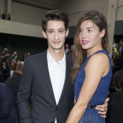 Fashion Week : Pierre Niney et sa belle Natasha Andrews chez Dior Homme