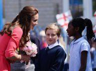 Kate Middleton : Sublime et acclamée, la maman du prince George s'engage