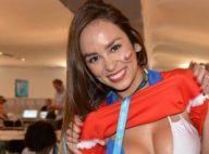 Jhendelyn Nunez : La sexy journaliste du Mondial enlève le haut... pour le Chili
