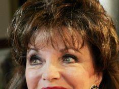 PHOTOS : Joan Collins trop kitsch de jour comme de nuit !