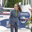 Charlotte Casiraghi - Troisième et dernier jour du Paris Eiffel Jumping présenté par Gucci, septième étape du Longines Global Champions Tour, à Paris le 6 juillet 2014.