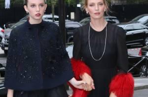 Uma Thurman et sa fille Maya, Léa Seydoux... : Modeuses chic à Paris