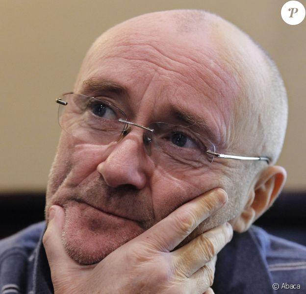 Phil Collins au Texas, le 8 mai 2012.