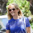 Reese Witherspoon à Pacific Palisades, Los Angeles, le 1er juin 2014.