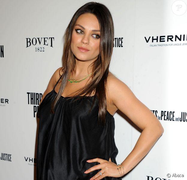 Mila Kunis à Hollywood, Los Angeles, le 9 juin 2014.