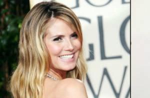 Heidi Klum : Une bombe glamour, une blonde renversante