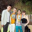 Dylan Riley Snyder, Spencer List, Alli Simpson, Joey King à la soirée Just Jared Summer Party au Pink Taco à West Hollywood, le 12 juillet 2014.