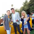 Dylan Riley Snyder, Spencer List, Alli Simpson et Joey King à la soirée Just Jared Summer Party au Pink Taco à West Hollywood, le 12 juillet 2014.