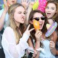 Sabrina Carpenter à la soirée Just Jared Summer Party au Pink Taco à West Hollywood, le 12 juillet 2014.